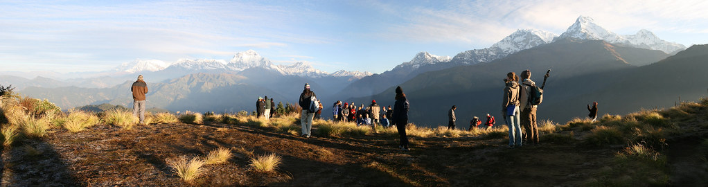 Himalayas des de Poon Hill (Nepal).   Nepal es ...
