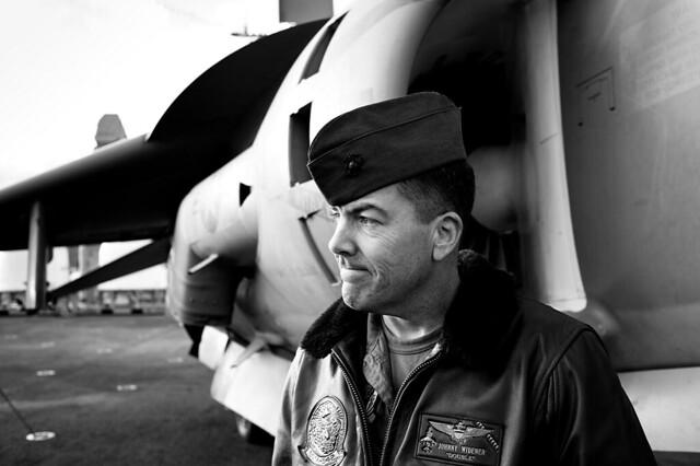 harrier pilot