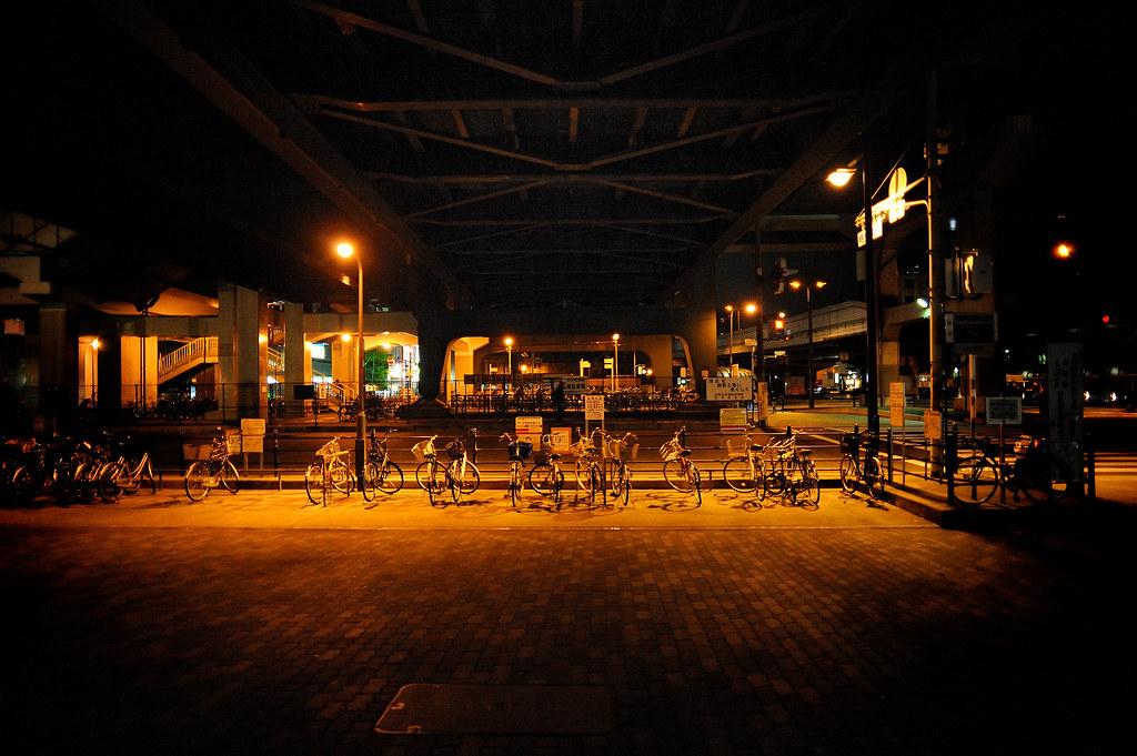 弁天町 A bike park by arapy