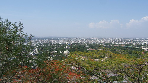 View from Parvati Hill over Pune | by Andy Hay