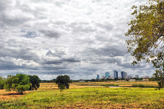 Skyline Fort Worth Texas Trinity River Vision Project Cent Flickr
