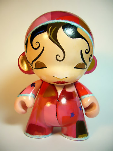 Pajama Girl Munny front by Bryan Collins | by Bryan_Collins