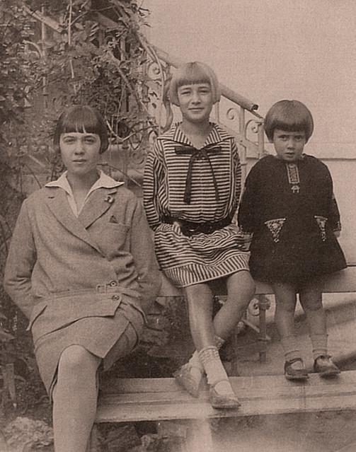 La mia mamma con le sue sorelle (1)