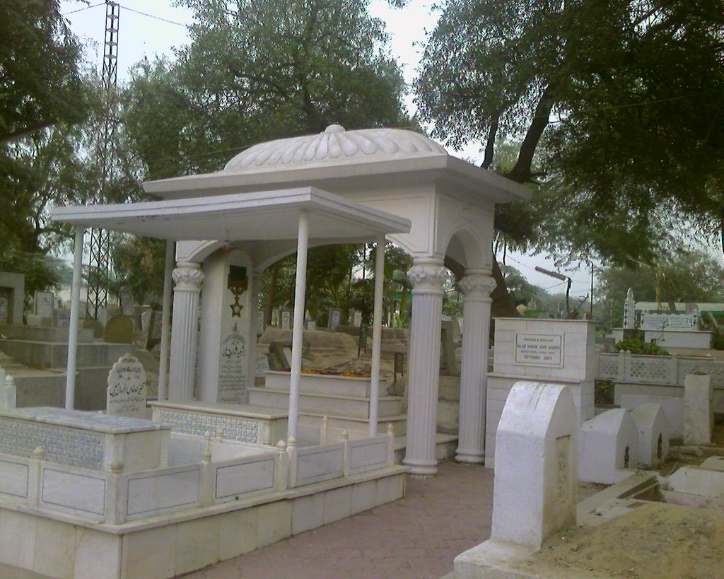 Graves of Major Shabbir and his friend Tanveer, side by side