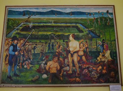 The Painting of Banda Massacre