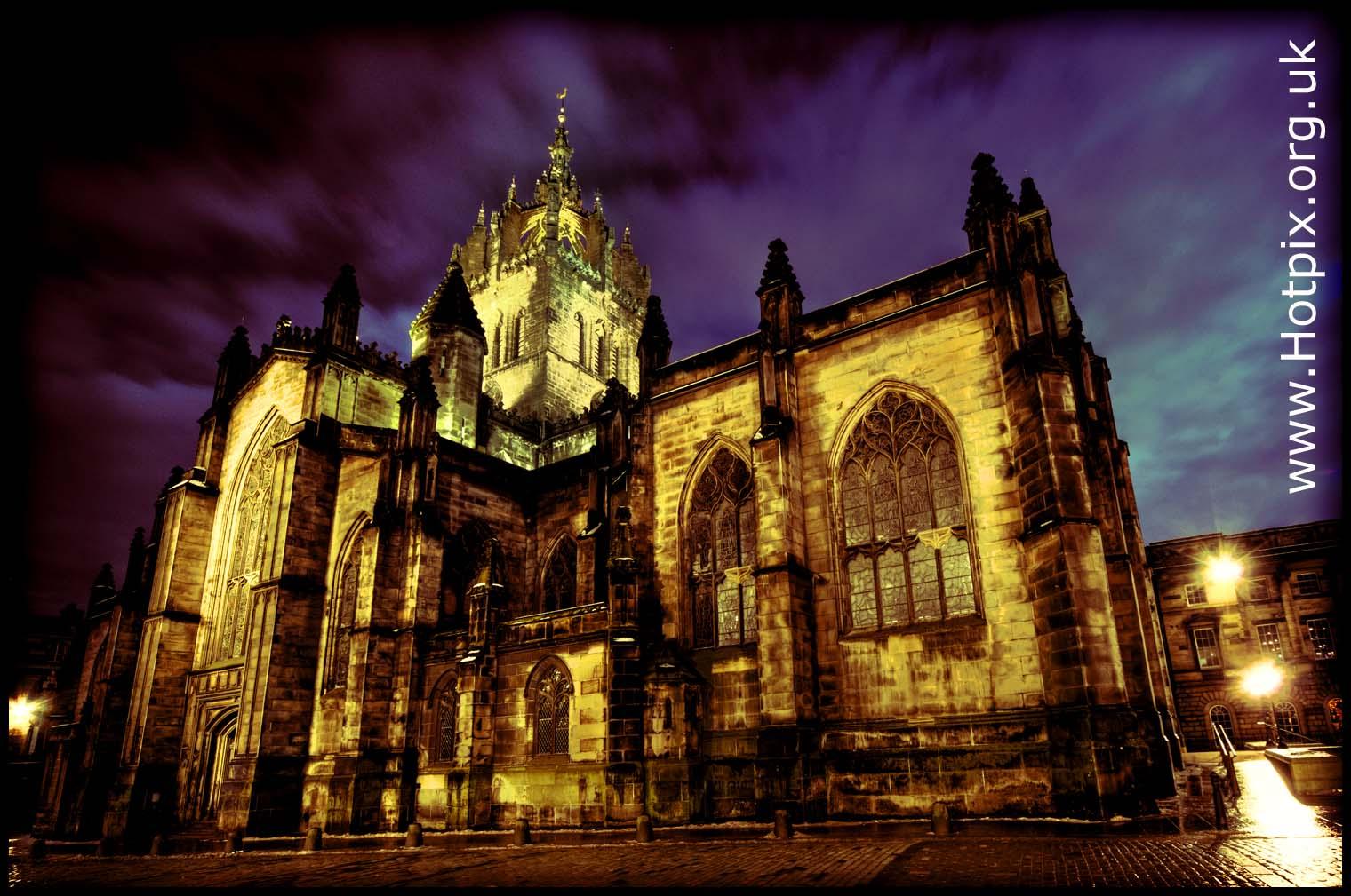 St Giles Cathedral,Edinburgh,Scotland UK tony smith hotpix tonysmith tonysmithhotpix UK GB things to see in edinburg dusk dawn blue magic hour night tripod shot  HDR,#tonysmith,#hotpix,#tonysmithhotpix,edimburgh