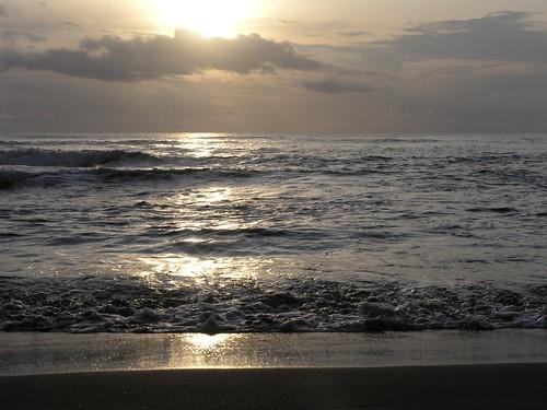 Um Nascer de Sol na Costa Rica