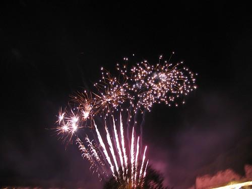 Odiham Jazz Festival Fireworks
