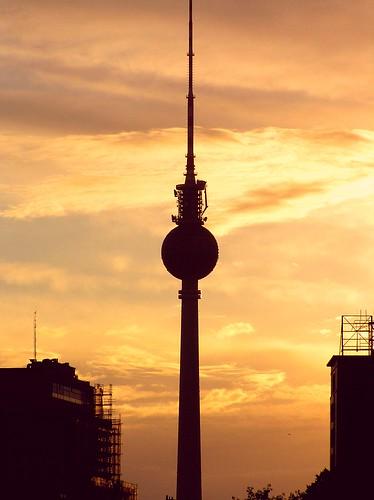 Summer Sunset, Berlin