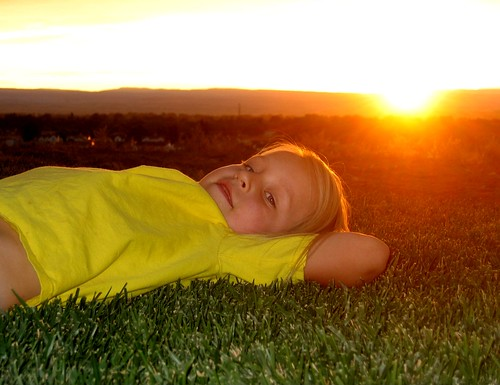 sweet grass smile kid kids children sunset
