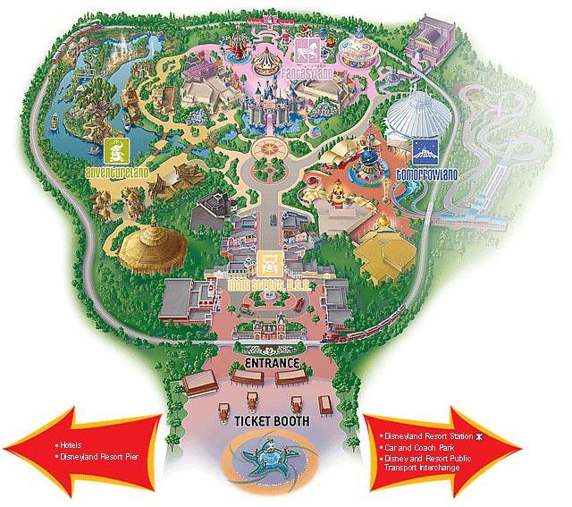 Disneyland Hong Kong Park Map Longplay Flickr