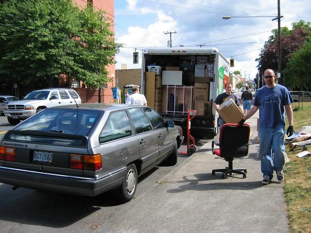 Hawthorne House - Moving Truck
