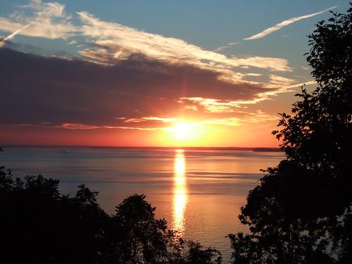 maryland virginia dc potomac river sunset