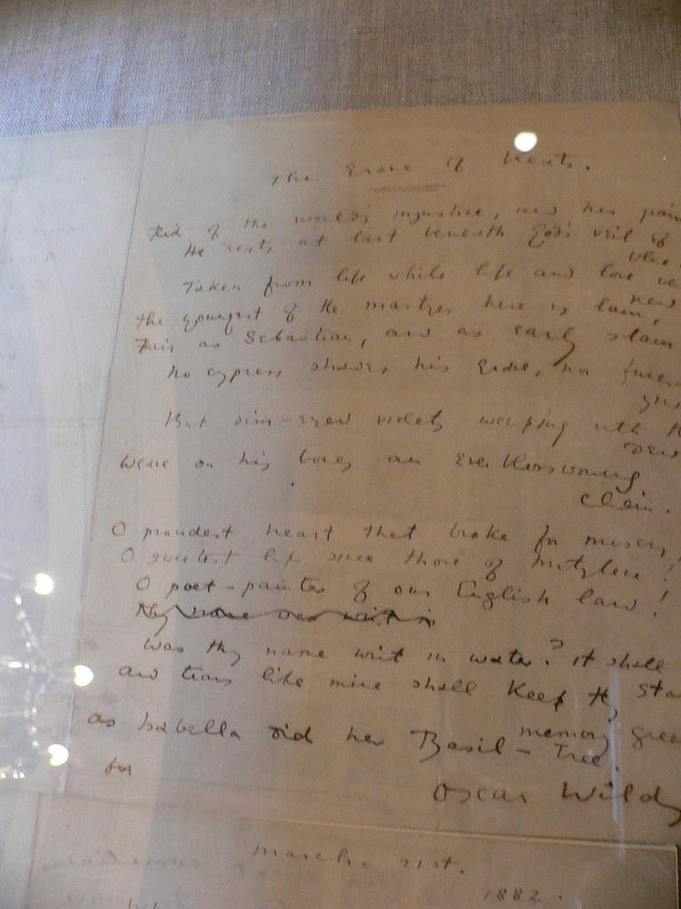 Oscar Wilde Love Poems 6