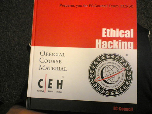 ethical hacking book