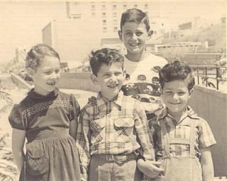 Irit-Eli-Miki-David 1955