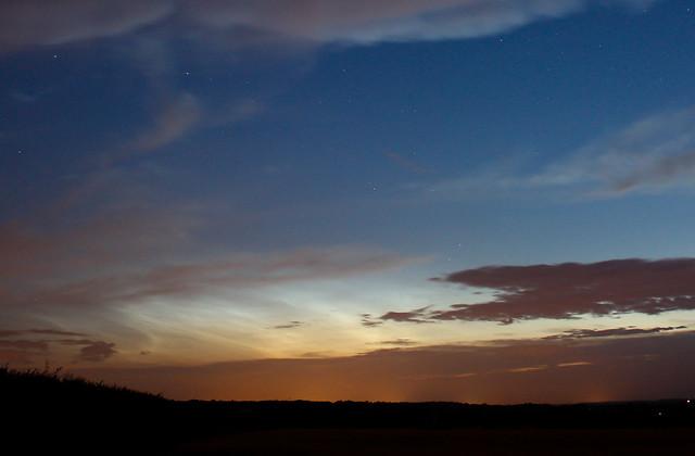 Dawn Noctilucent Clouds 11/07/15