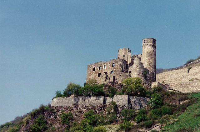 Castles on the Rhine - Ehrnefels Castle