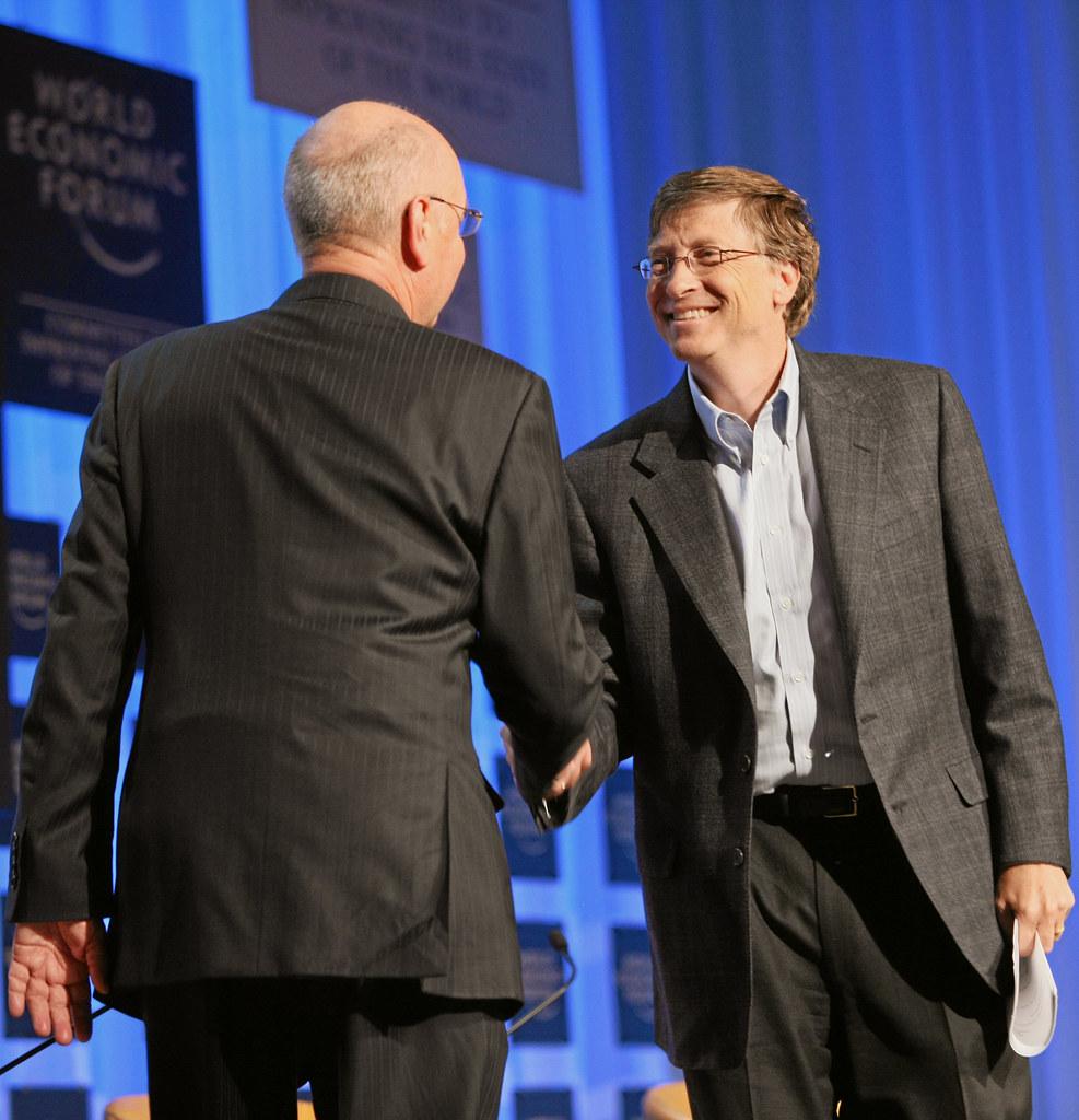 Gates & Schwab kontrollieren Europa