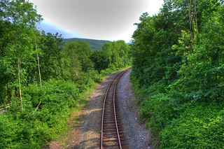 Train Track in Betws Y Coed | by pwhite
