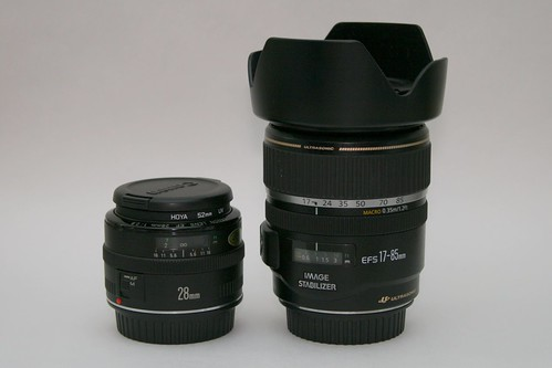 Canon EF 28mm and EF-S 17-85mm IS lenses | by Stephen Edmonds