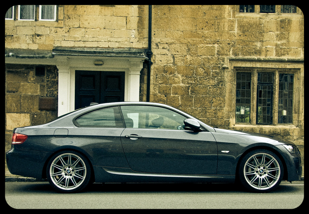 Ongebruikt 2008 BMW 330i Coupe | An attempt to make it look like an old… | Flickr EM-95
