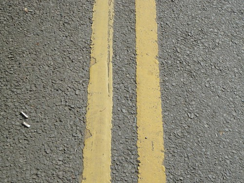 yellow lines | by psflannery