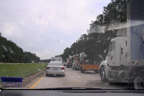 cars geotagged louisiana driving traffic unitedstates interstate windshield independence i55 smashedbugs geo:lat=3066462682 geo:lon=9053279550