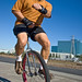 Unicyclist by the other Martin Taylor