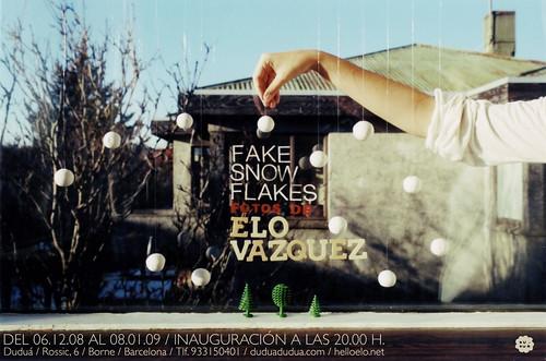 Fake snowflakes | by Elo Vazquez