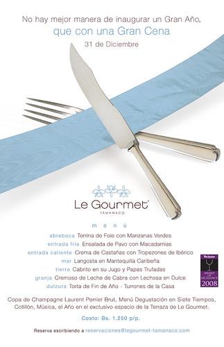 Le Gourmet Cena Fin De Año Invitación Mail Flickr Photo