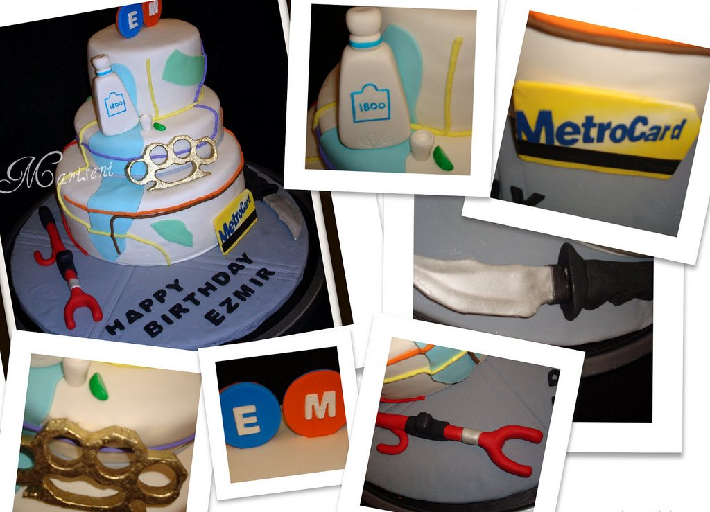 Custom Art Nyc Subway Map.Nyc And Mta Subway Map Inspired Birthday Cake Join Us On F Flickr