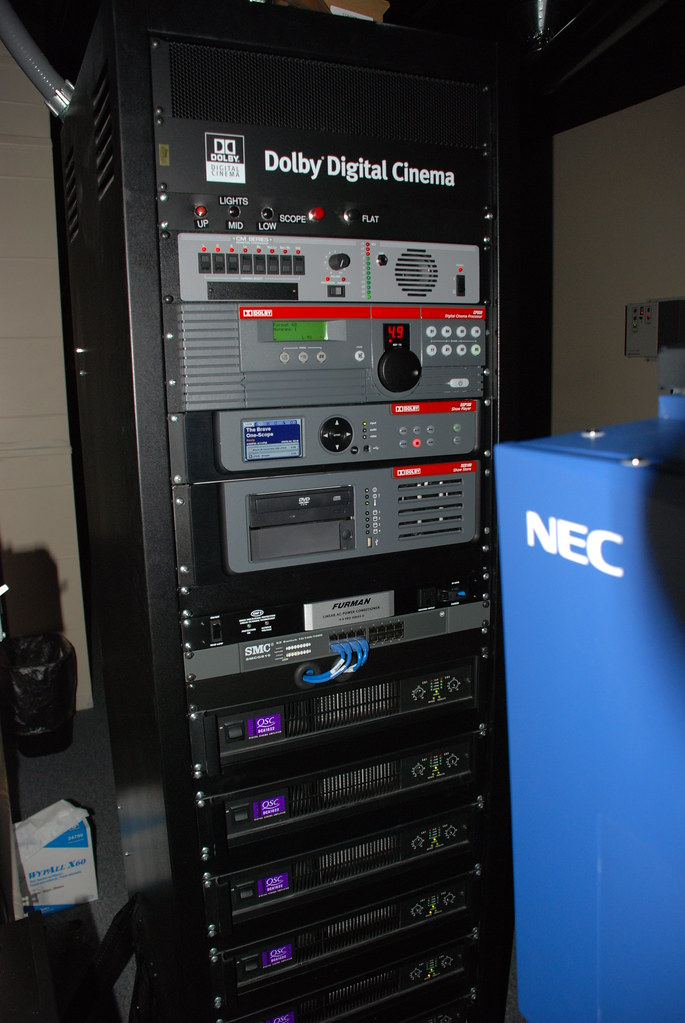 Dolby Digital Cinema/Sound in one rack | One of my installs … | Flickr