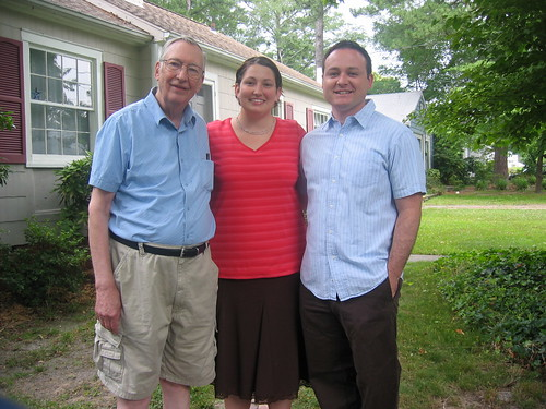 Dad, Brandi and Jim   by radical.librarian