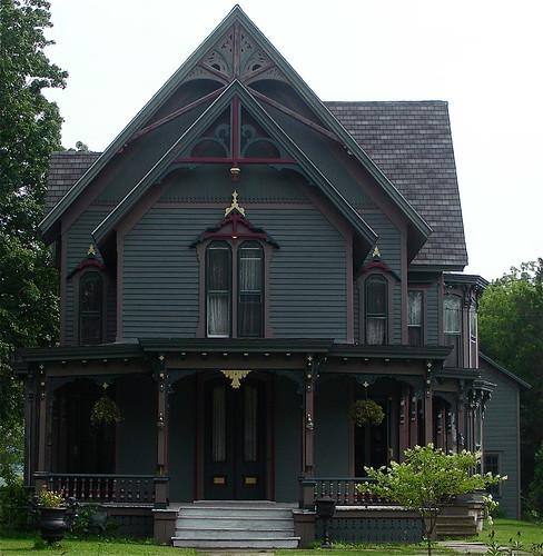 architecture queenanne victorian gingerbread upstatenewyork tup theunforgettablepictures housescarpentry