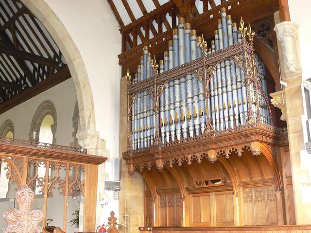 St. Mary Magdalene, Twyning Church organ #2