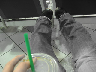 starbucks and jeans | by lolololori