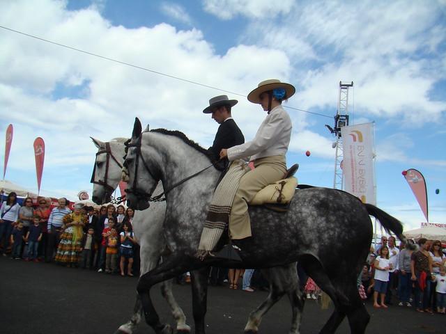 Club Anzofe caballos y carretas IV Feria abril Las Palmas de Gran Canaria 16