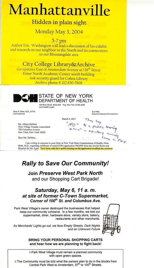 Tenant Exhibit: The Park West Village Tenants Association