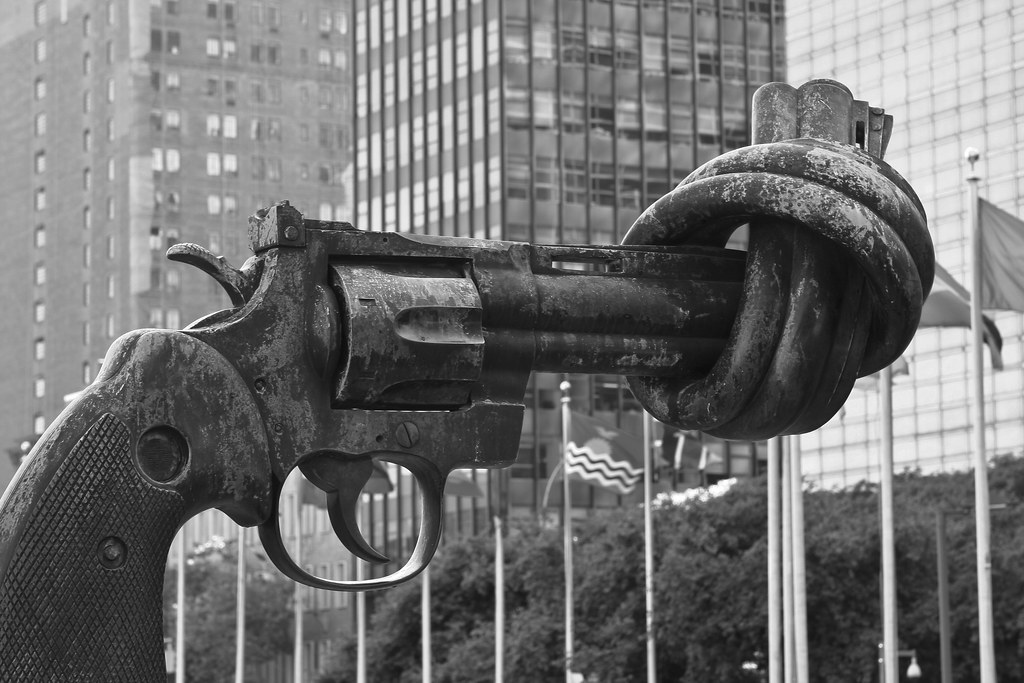 Knotted Gun - UN Headquarters