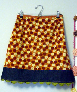 my apple picking skirt for fall | by lindamade