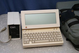 Latest addition: Apple IIc with LCD, battery pack and carry bag | by Stephen Edmonds