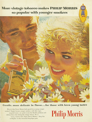 Colorful Philip Morris Cigarette Ad 2   by MsBlueSky