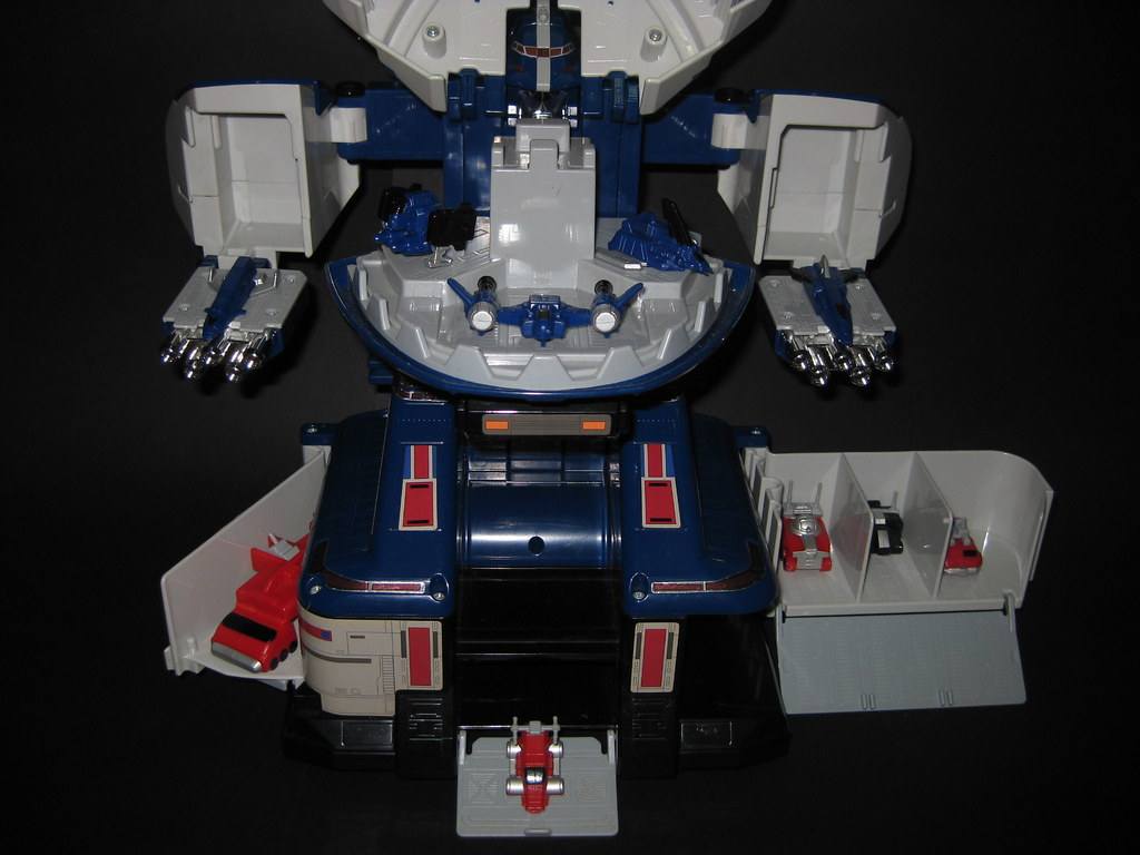 Power Rangers Lost Galaxy Deluxe Zenith Carrierzord Flickr