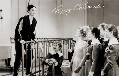 Romy Schneider in Mädchen in Uniform (1958)