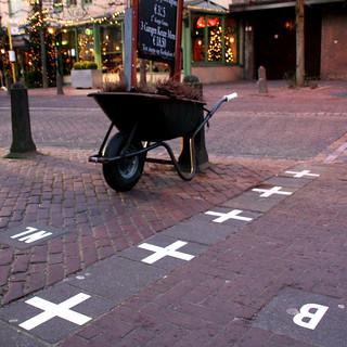 De grens van Baarle