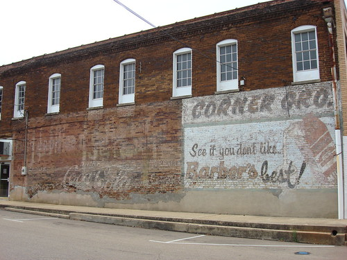 Barber's Milk Mural, Pontotoc Mississippi | by Deep Fried Kudzu