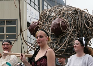 The Flying Spaghetti Monster- Fremont Parade 2008