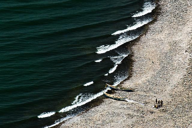 Fishermen from Lake Turkana