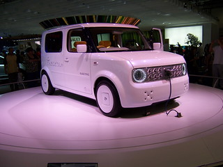 Nissan Cube Electric Concept | by Alan_D